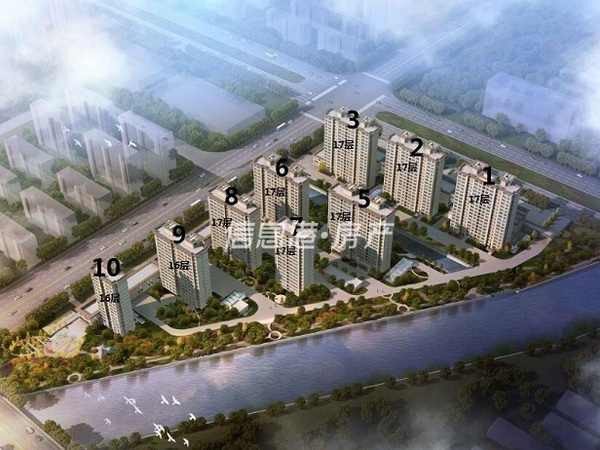 经区医院南 龙祥国际高端住宅舒适三居 精装修