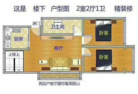 个人出售 首付30万 火车站南门 蒿泊框架 6室2厅2卫 精装修 140平