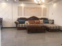 鲸园学区房东平街四楼113平三室精装地暖带实木家具