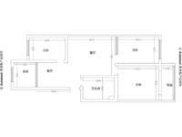 皇冠南区金海湾花园 住人1楼 简装3居室 带草厦急售