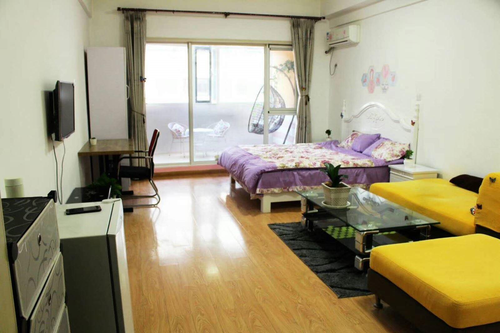 韩乐坊南向精装一室公寓家电家具齐全 温馨拎包入住