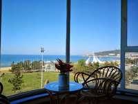 国际海水浴场旁国际海景城100平精装直面观海137万