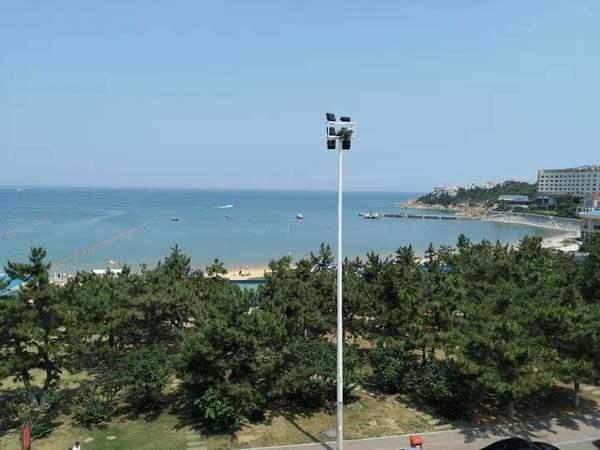 高区国际海水浴场 金海花园海景房简装 带观海阳台 70年产权