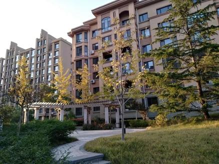 威高花园熙和苑小高层123平精装修带车位 带草厦子全明户型