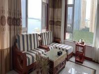 一线海景 威海威高青缇湾东边户豪华红木装修 三室两厅两卫