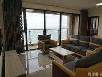 九龙城商圈 华发九龙湾 一线海景 精装4室2厅2卫 全新家具首次出租