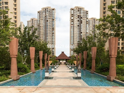 九龙城商圈 华发九龙湾 高层 精装3室2厅2卫 配套齐全拎包入住 年付优惠