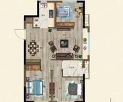 府珍-3室2厅1卫-90.0㎡