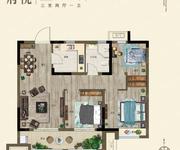 府悦-3室2厅1卫-90.0㎡
