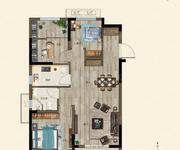 府尚-3室2厅1卫-90.0㎡