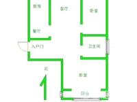 出售昌鸿小区2室2厅1卫74.5平米82.8万住宅
