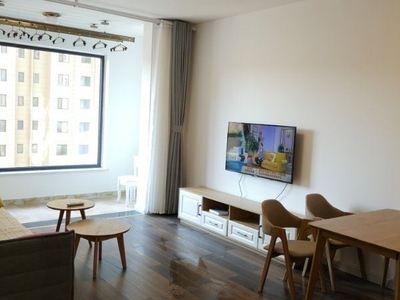 华发九龙湾一期85平两居室精装修拎包入住随时看房