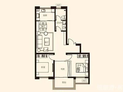 威高万和家园 119平3室超棒户型 多套低售 必看疯抢