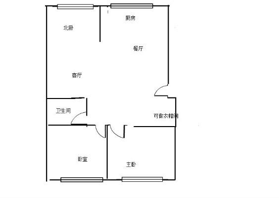 盛德世纪家园3室2厅1卫103平米140万住宅