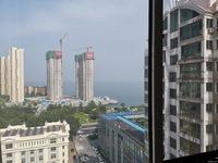青岛路阳光海岸小区东南向全明海景精装公寓,民水民电天然气