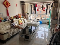 华夏紫藤花园精装79.22平5楼 2010年2室2厅草厦8平售79.8万