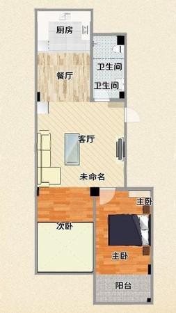 彩凤山城春山华居电梯高层毛坯 84平带地下车位储藏室