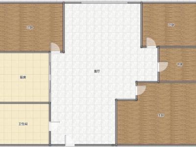房东再降5万美孚小区房证面积170平南北通透