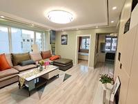 高区一中。沈阳路和谐家园。西边户三室两厅,精装修未住带家具。