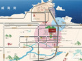 威海万城花开交通图