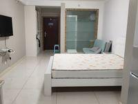出租富城国际公寓精装拎包入住家具家电齐全1室52平米